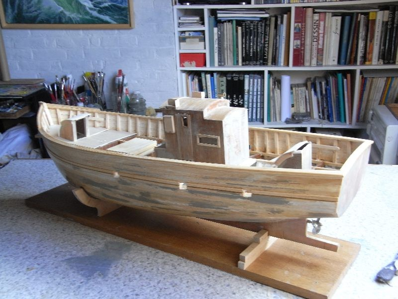 chalutier sardinier st yves mod lisme naval mod le yacht club picard club de mod lisme naval. Black Bedroom Furniture Sets. Home Design Ideas
