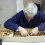mise en place de longerons pour le plancher de son LCA